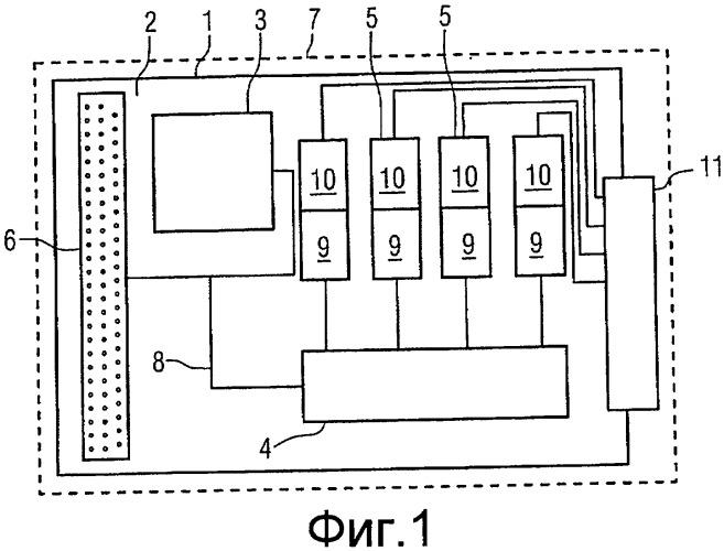 Средство маршрутизации для подводного электронного модуля