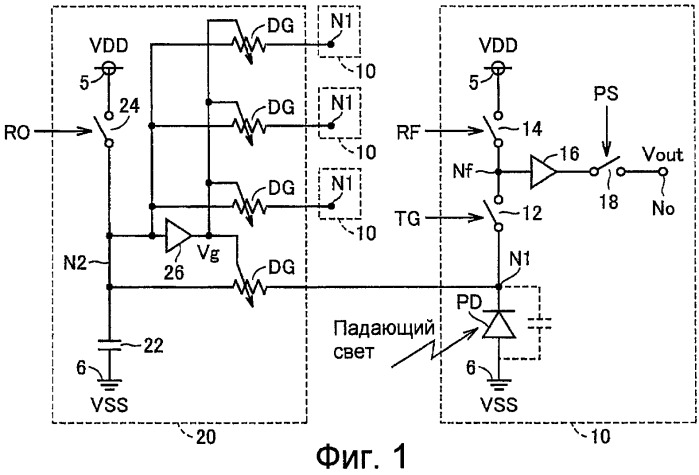Полупроводниковое устройство считывания изображения