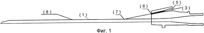 Рельсовая иголка для совместного ввода в поясничные позвонки