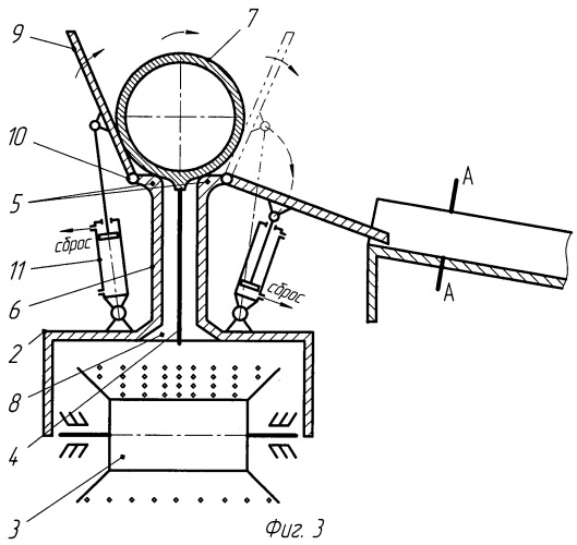 Устройство для подачи троса в зону поражения на высотном сооружении