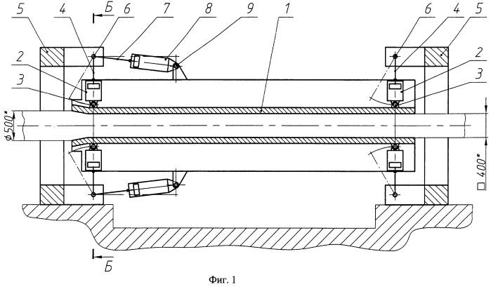Устройство для изготовления труб прямоугольного профиля