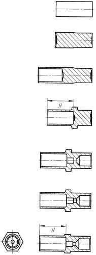 Способ изготовления корпуса наконечника тормозного шланга
