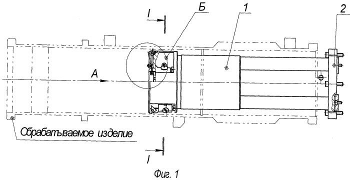 Устройство для крепления режущего инструмента в станках для обработки трубчатых изделий