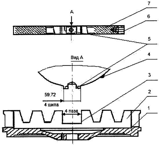 Способ ремонта ведущего диска узла сцепления силовых агрегатов