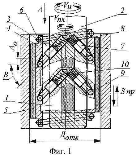 Устройство для алмазно-абразивной обработки с планетарным осциллирующим движением