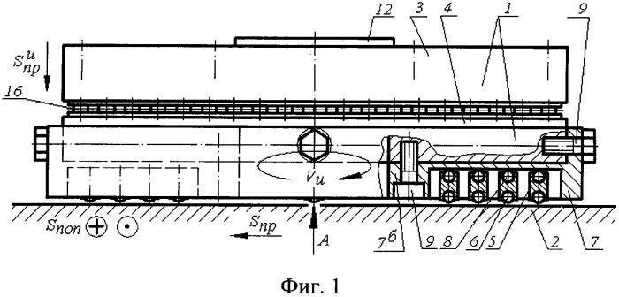 Способ вибронакатывания плоскостей