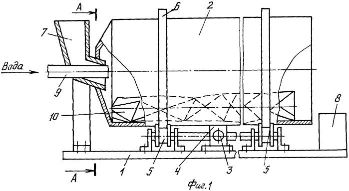 Стержневой бетоносмеситель (варианты)
