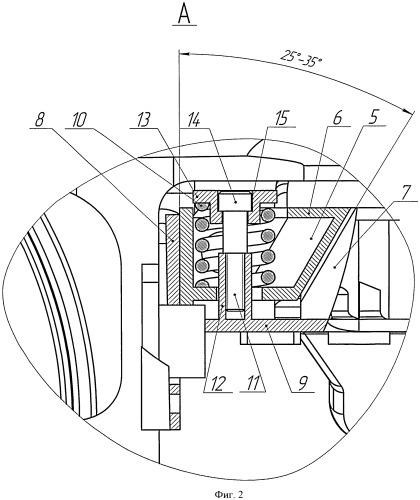 Амортизирующее устройство для тележки железнодорожного вагона