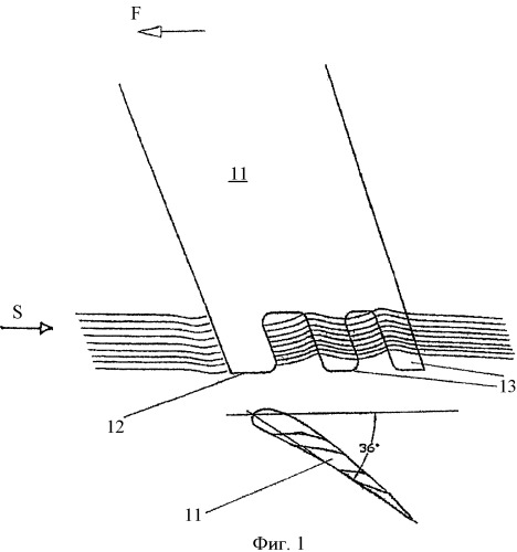 Аэродинамический закрылок летательного аппарата с влияющим на срыв потока устройством