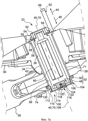 Гаечная система и стойка крепления двигателя летательного аппарата, содержащая такую систему