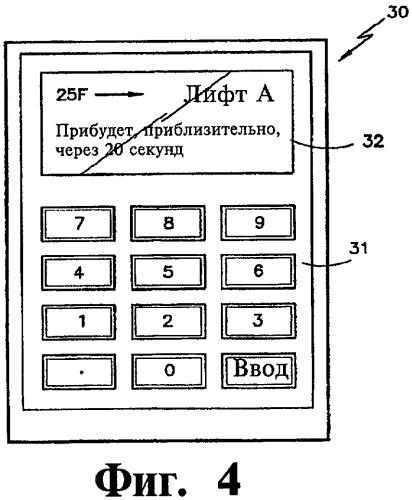 Система отображения для лифтов и способ управления движением пассажиров в лифтовой системе здания