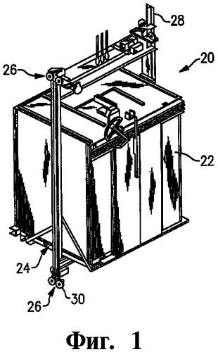 Направляющий узел лифтовой системы и способ изменения жесткости направляющего ролика кабины лифта