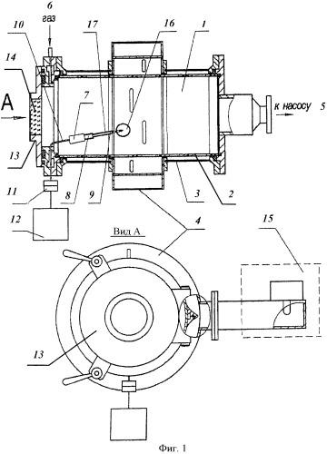 Способ обработки режущего инструмента в стационарном комбинированном разряде низкотемпературной плазмы пониженного давления