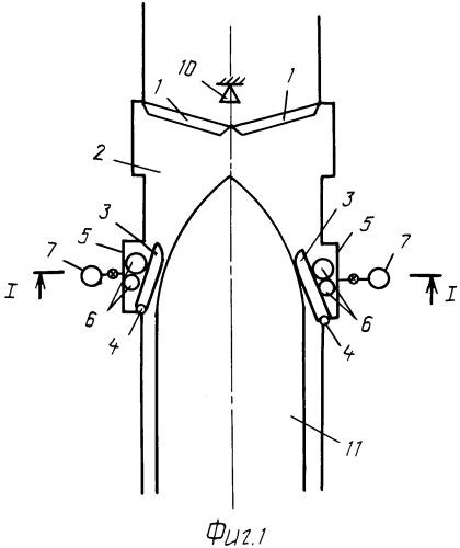 Система для защиты ворот судоходного шлюза