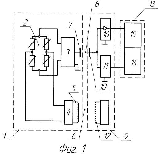 Устройство для бесконтактного измерения крутящего момента