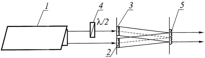 Преобразователь поляризации лазерного излучения