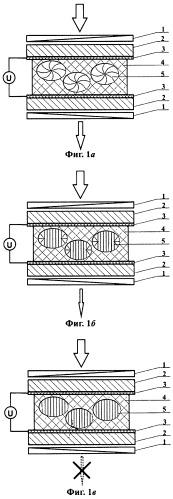 Мультистабильный электрооптический элемент с поляризаторами