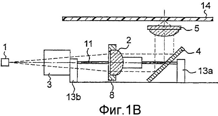 Оптическое устройство считывания информации, дисковод оптического диска и оптическое информационное устройство