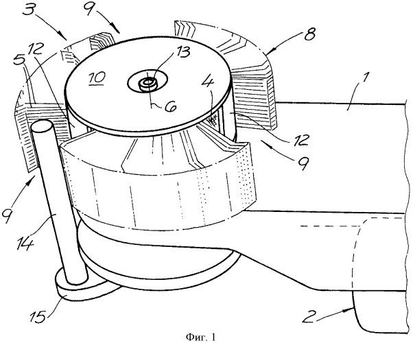 Щеточный агрегат, вращательный щеточный инструмент и способ обработки поверхности детали щеточным агрегатом