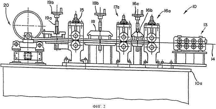 Машина для получения труб со спиральным замковым швом из цельного рулонного проката