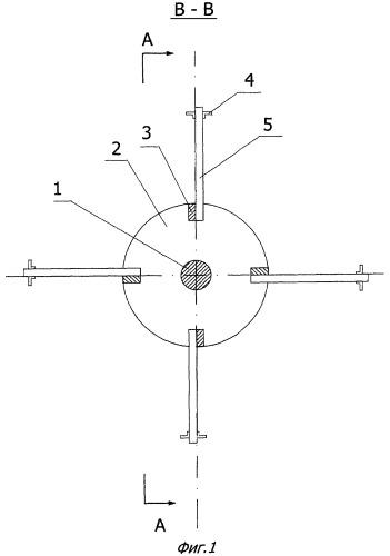 Колесный движитель для судов на воздушной подушке