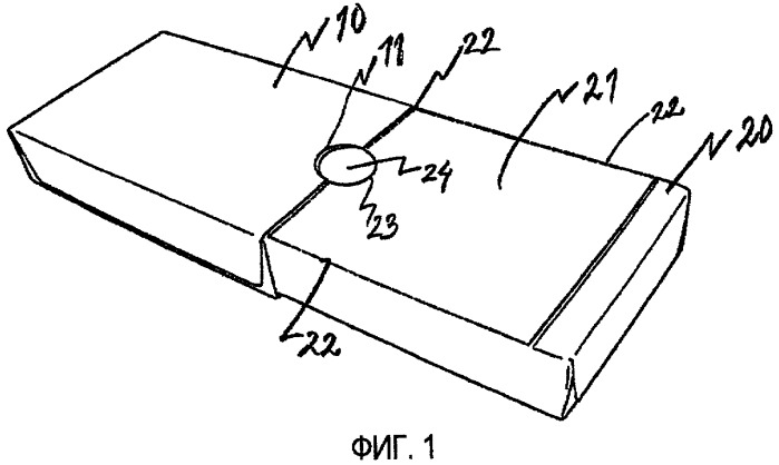 Упаковка и вставка, предназначенная для образования части упаковки