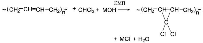 Способ получения хлорированных полидиенов
