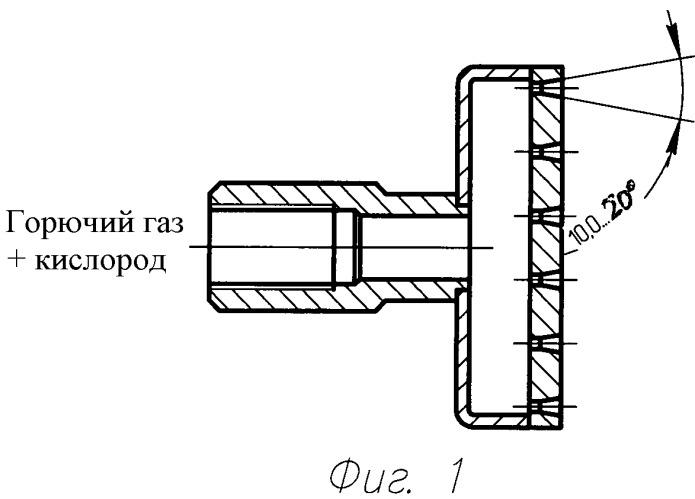 Устройство для газопламенной обработки образцов материалов
