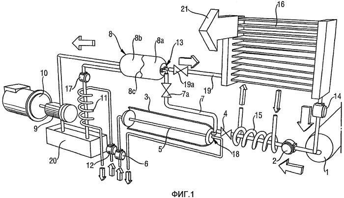 Способ и устройство для преобразования термической энергии в механическую работу