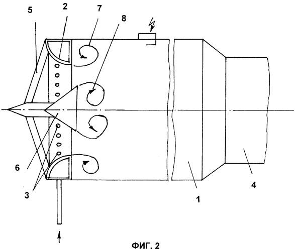 Способ повышения реактивной тяги бесклапанного пульсирующего воздушно-реактивного двигателя