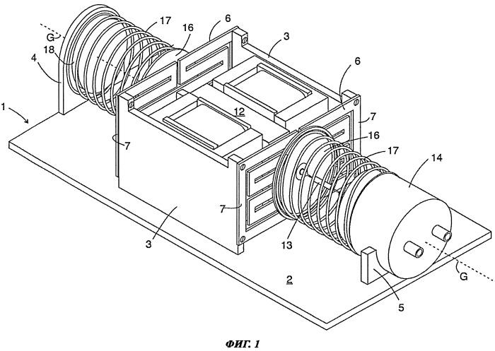 Линейный компрессор и приводной блок для него
