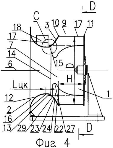 Вентиляторный блок со свободным радиальным рабочим колесом