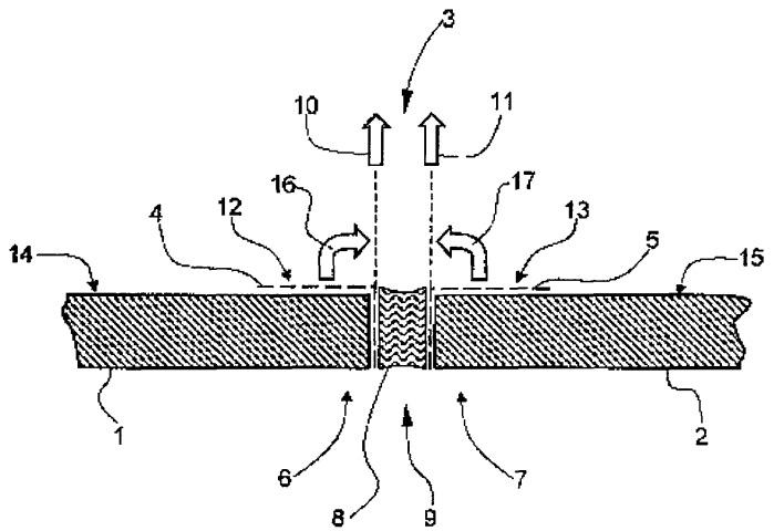 Способ получения разъемного соединения с использованием герметизирующего вещества и применение клейкой ленты для осуществления способа