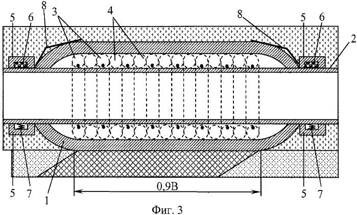 Секция подводного трубопровода и способ ее изготовления