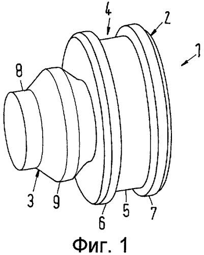 Разделительный элемент для секционного радиатора и секционный радиатор