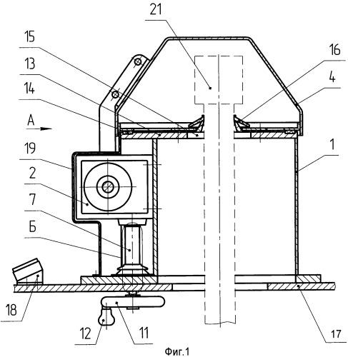 Устройство для защиты оптического прибора машины топопривязки