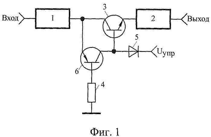 Устройство управления амплитудой мощных импульсных сигналов