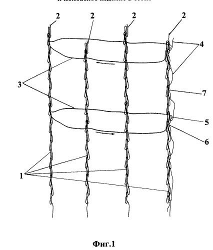 Трансформируемая сетка для колбасных изделий, способ ее изготовления и колбасное изделие в сетке