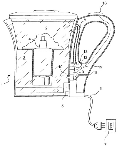 Способ определения состояний износа картриджа фильтра в водонагревающем устройстве или подобном устройстве и оборудование, работающее согласно этому способу