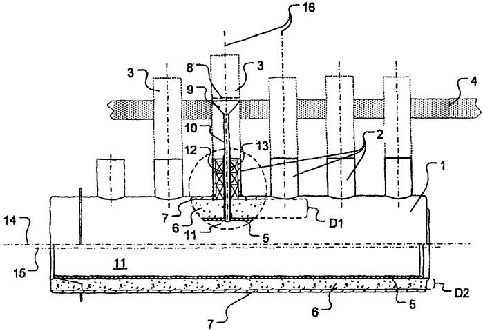 Коллекторный трубопровод для трубчатых печей риформинга