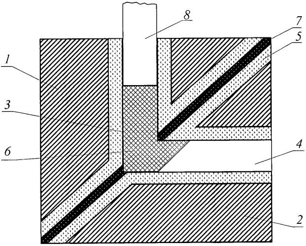 Устройство для равноканального углового прессования металлов