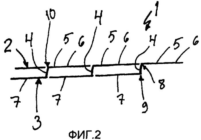 Способ изготовления ячеистой плиты, ячеистая плита, способ изготовления элемента ячеистой плиты из стальной полосы и производственная линия