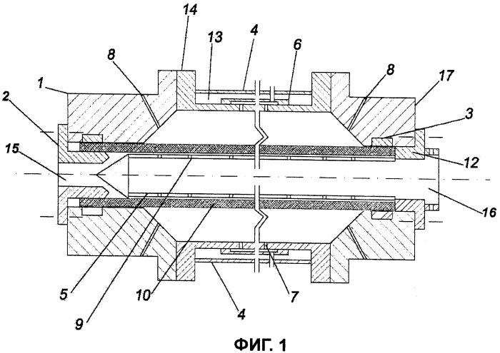 Устройство и способ производства молекулярно биориентированных пластмассовых труб