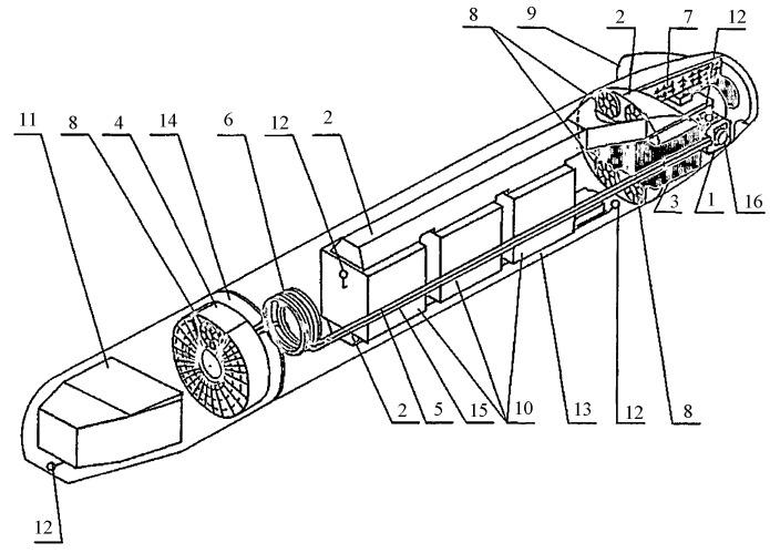 Система охлаждения бортовой аппаратуры подвесного авиационного оптико-электронного контейнера
