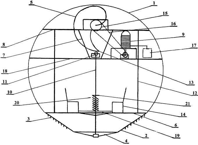 Устройство с резиновым движителем для полетов в воздушном пространстве
