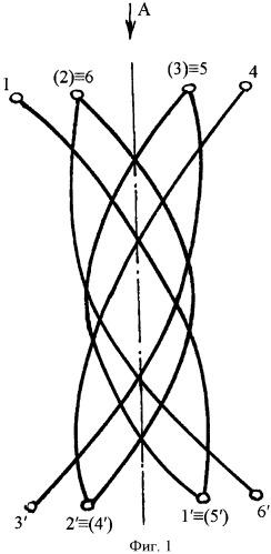 Х-образный арматурный каркас