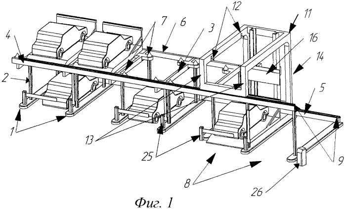 Двухъярусная парковка открытого типа с зацеплением автомобильного поддона за боковую поверхность