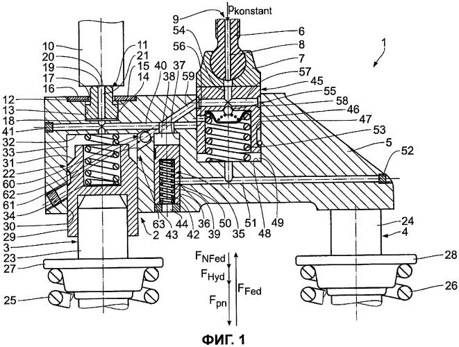 Двигатель внутреннего сгорания с устройством торможения двигателем