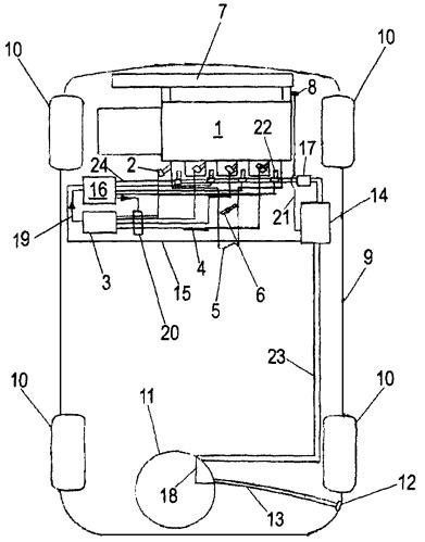 Система и способ эксплуатации двигателя внутреннего сгорания, работающего на двух различных видах топлива