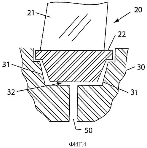 Турбины с отводящим проходом для удаления посторонних предметов